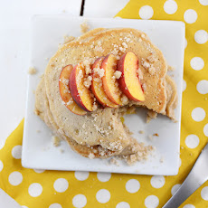 Peach Pie Pancakes