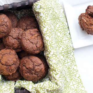 Orange Chocolate Zucchini Muffins