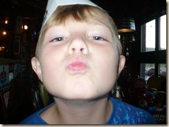 Mom 58--Max kissy face