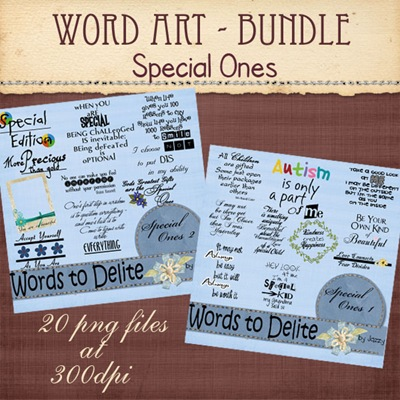 wordart-bundle_specialOnes