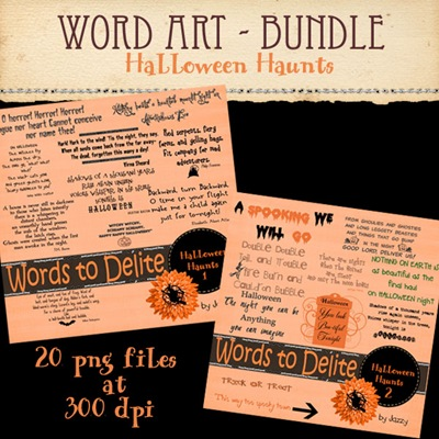 HalloweenHaunts_Wordart_Bundle