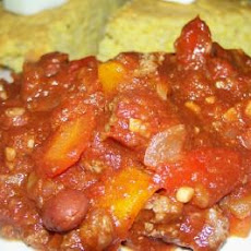 Weight Watcher's 2 Pts Slow Cooker Beef Chili