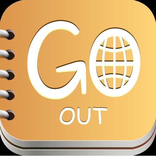 GO OUT 社交 App LOGO-APP試玩