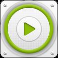 PlayerPro Cloudy Green Skin APK for Lenovo