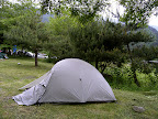 The Big Agnes Seedhouse SL2 tent at Saiko Lake 03