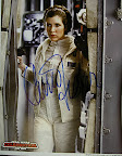 autographed Carrie Fisher photograph