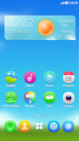 Screenshot of Young Feel GO Launcher Theme