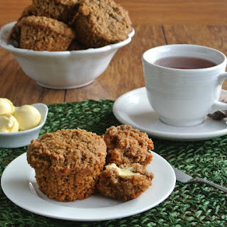 Healthy Morning Muffins with Bigelow Tea