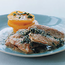 Pan-Seared Chicken with Tarragon Butter Sauce