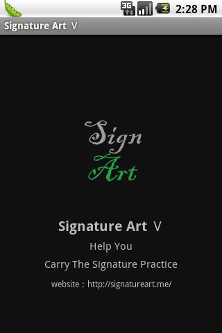 My Artistic Signature Ⅴ