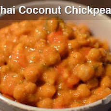 Thai Coconut Chickpeas