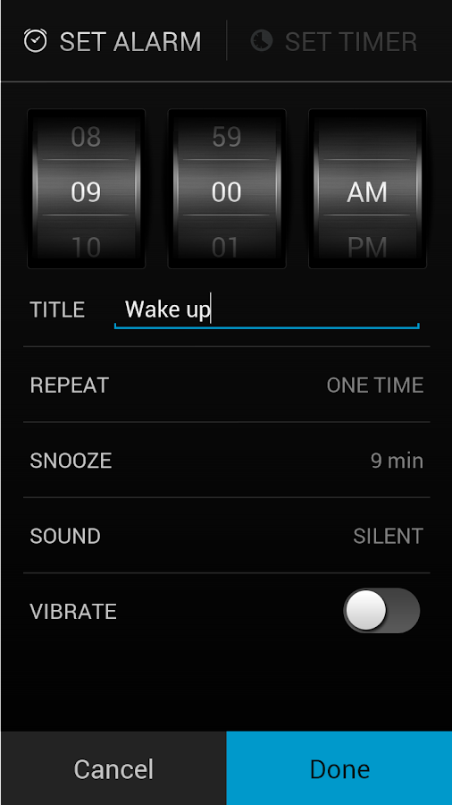 Alarm Clock Screenshot 5