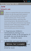 Screenshot of Home Organizing Year-round