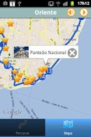 Screenshot of mySight Lisbon