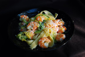 Imported Italian Food - Shrimp Pasta