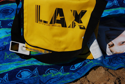 Air Wear Messenger Bag at the Beach