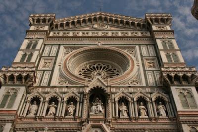 Santa Maria del Fiore -- known as the Duomo -- in Florence