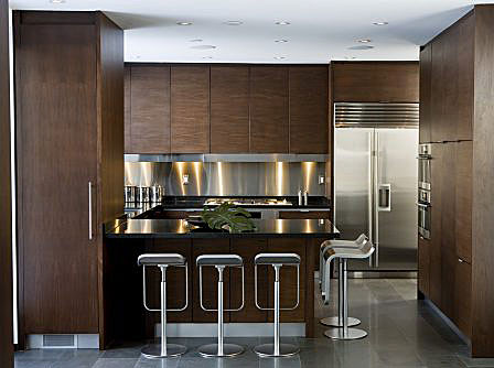 The world according to jessica claire sleek and modern rosedale kitchen - Sleek kitchen world ...