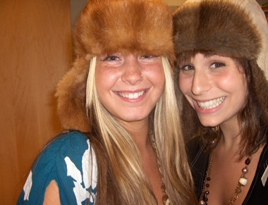 aug05- interns love winter hats