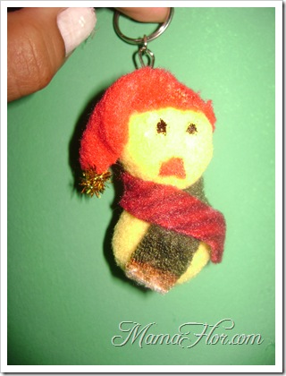 Como hacer un mini Muñeco de nieve