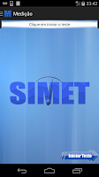 Screenshot of SIMET Mobile