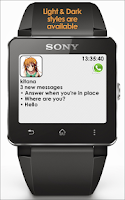 Screenshot of Notify SmartWatch