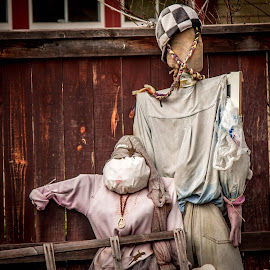 Modern day Scarecrows by Leah N - Artistic Objects Clothing & Accessories