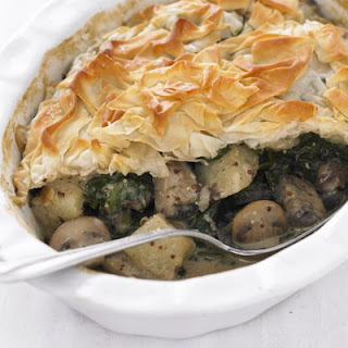 Mushroom Spinach And Potato Pie Recipes