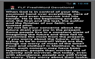 Screenshot of Full Life FreshWord