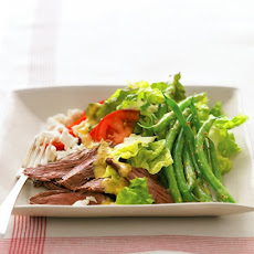 Steak Salad with Goat Cheese