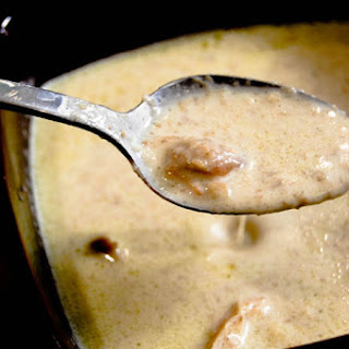 Cream of Mushroom & Chicken Soup