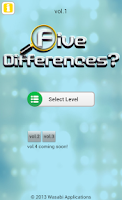 Screenshot of Five Differences? vol.1