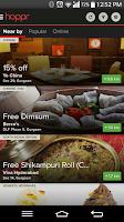 Screenshot of hoppr - free coupons