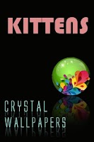 Screenshot of Crystal Kitten Wallpapers