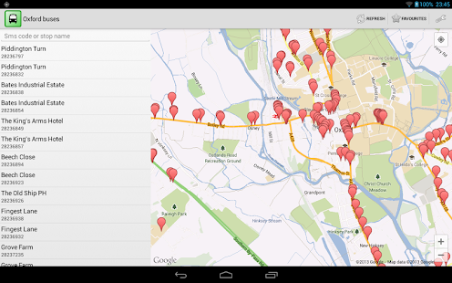 Oxford buses for android - screenshot