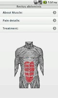 Screenshot of Pain Treatment