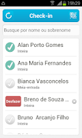 Screenshot of Sympla Check-in