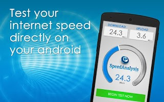 Screenshot of SpeedAnalysis Speed Test