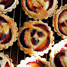 Plum-Almond Tart