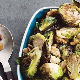 Mile End's Brussels Sprouts with Candied Walnuts and Apples