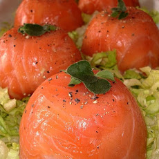Individual Smoked-Salmon and Avocado Mousses for Any Occasion