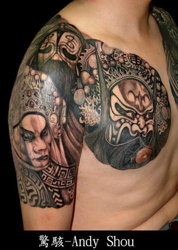 Funny Buddha Tattoo Design 8