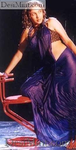 Indian Sexy Masala Actress Ramya Krishnan Wet Saree Gallery