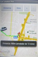 Screenshot of Car Locator Pro!