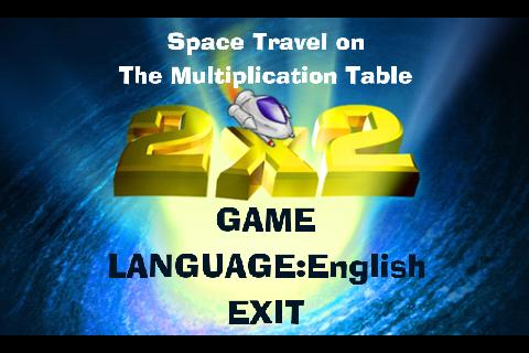 Multiplication table in space