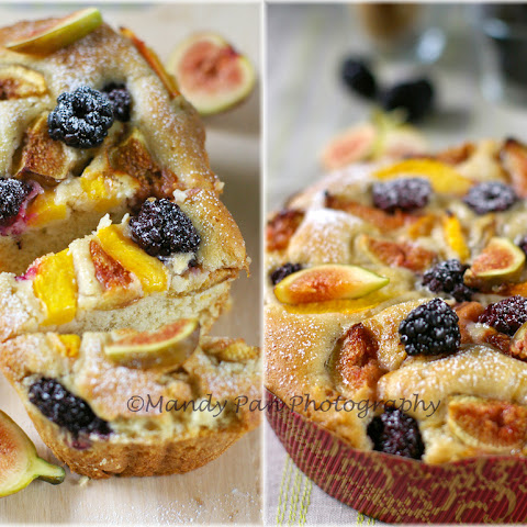 Peach And Blackberry Cake Recipes | Yummly