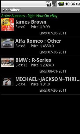 bidStalker for eBay