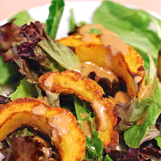 Roasted Delicata Squash with Balsamic