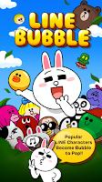 Screenshot of LINE Bubble!
