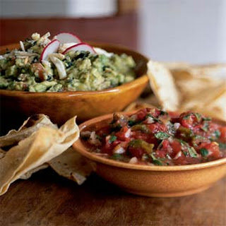Roasted-Poblano Guacamole with Garlic and Parsley